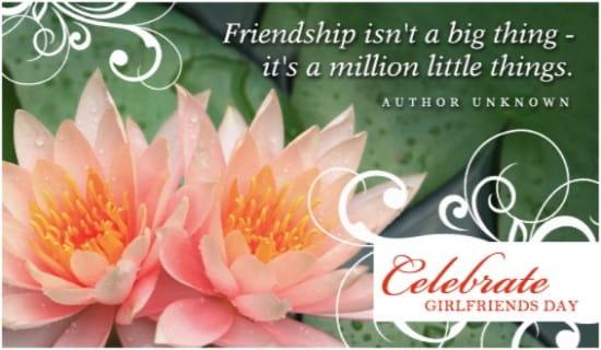 Girlfriends Day (8/1) ecard, online card