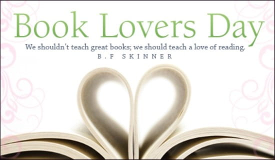 Book Lovers Day  ecard, online card