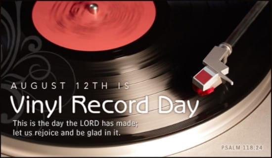 Vinyl Record Day (8/12)