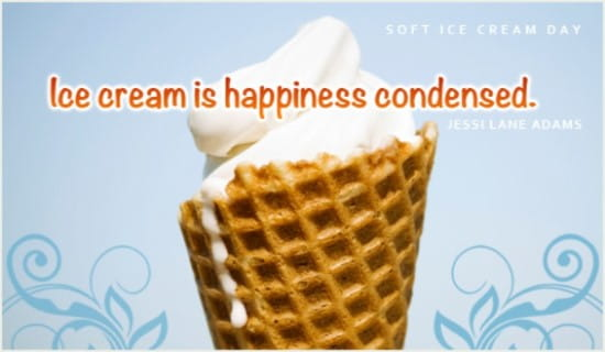 Soft Ice Cream Day (8/18)