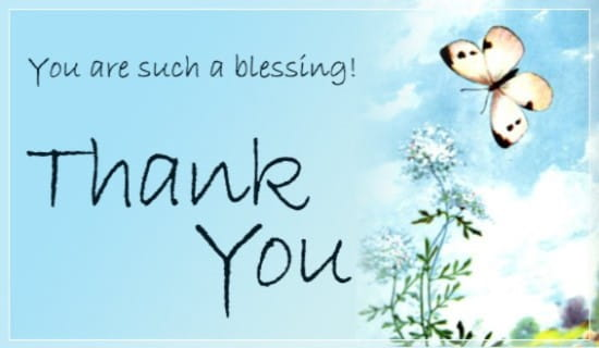 Free Thank You eCard - eMail Free Personalized Thank You Cards Online