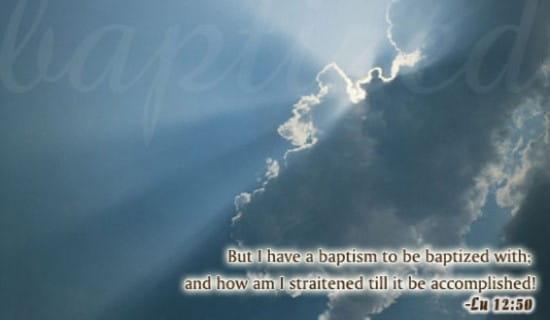 Baptized - Straitened