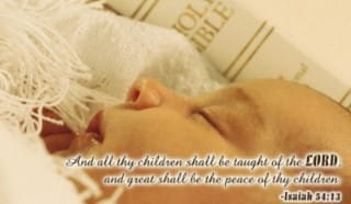 Christening - Taught Of The Lord