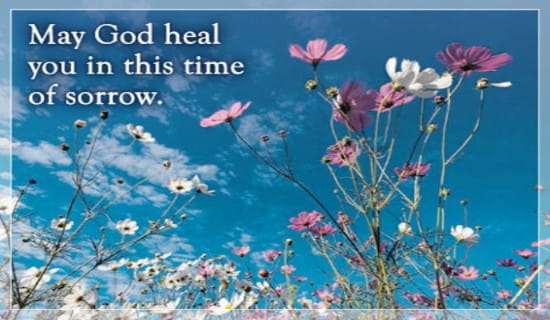 God Heals Sorrow