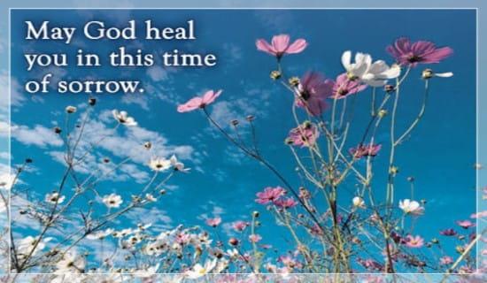 God Heals Sorrow