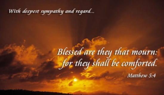 Sympathy Blessed