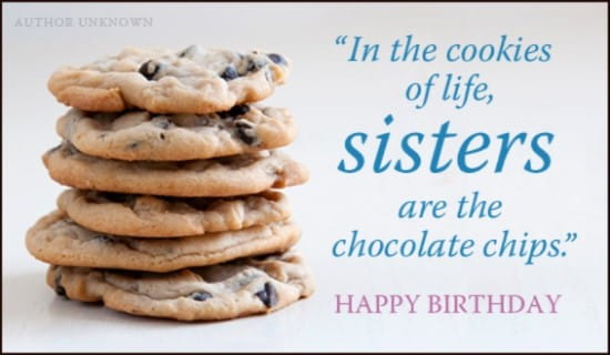 Free Birthday Cookies eCard eMail Free Personalized Birthday – Online Birthday Cards