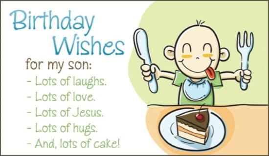 Free birthday son ecard email personalized