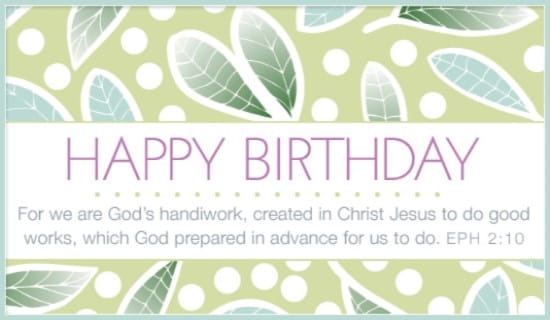 free god's handiwork ecard  email free personalized birthday, Birthday card