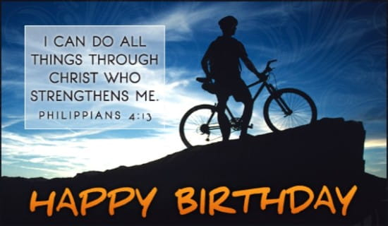 Free Birthday Strength eCard eMail Free Personalized Birthday – Free Birthday Cards Online