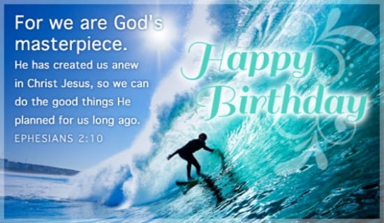God's Masterpiece ecard, online card
