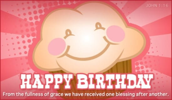 free birthday blessings ecard  email free personalized birthday, Birthday card
