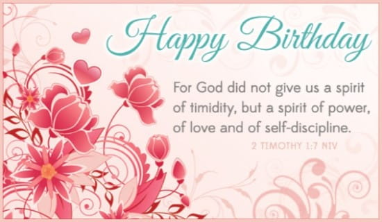free  timothy  niv ecard  email free personalized birthday, Birthday card