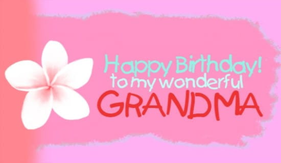 Free Grandma eCard eMail Free Personalized Family Cards Online – Birthday Cards for Grandma