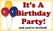 It's A Birthday Party