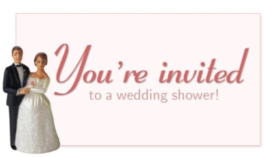 You Are Not Invited To Our Wedding: Free You're Invited To A Wedding Shower ECard