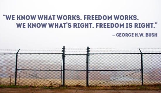 We know Freedom Works...