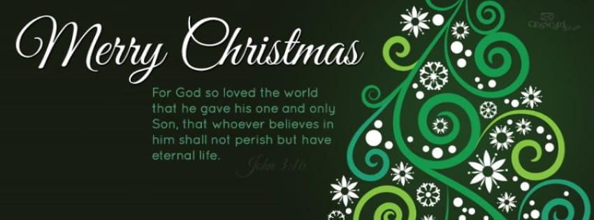 Merry Christmas - John 3:16