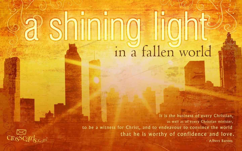 shining light desktop wallpaper