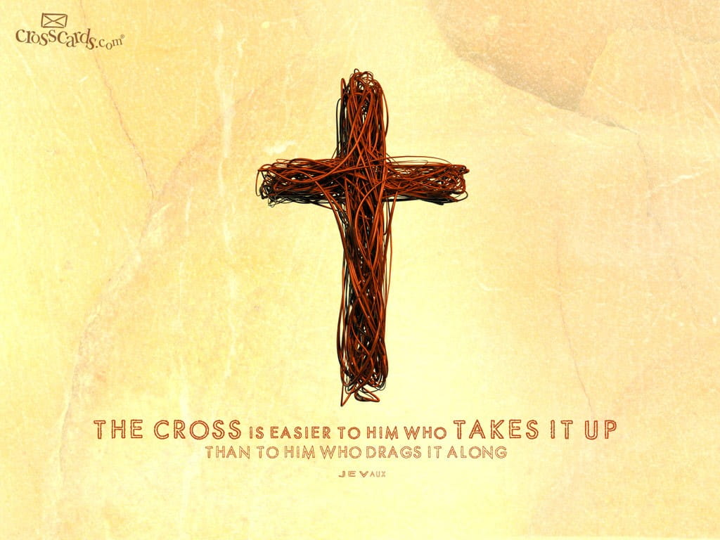 homily how to take up your cross
