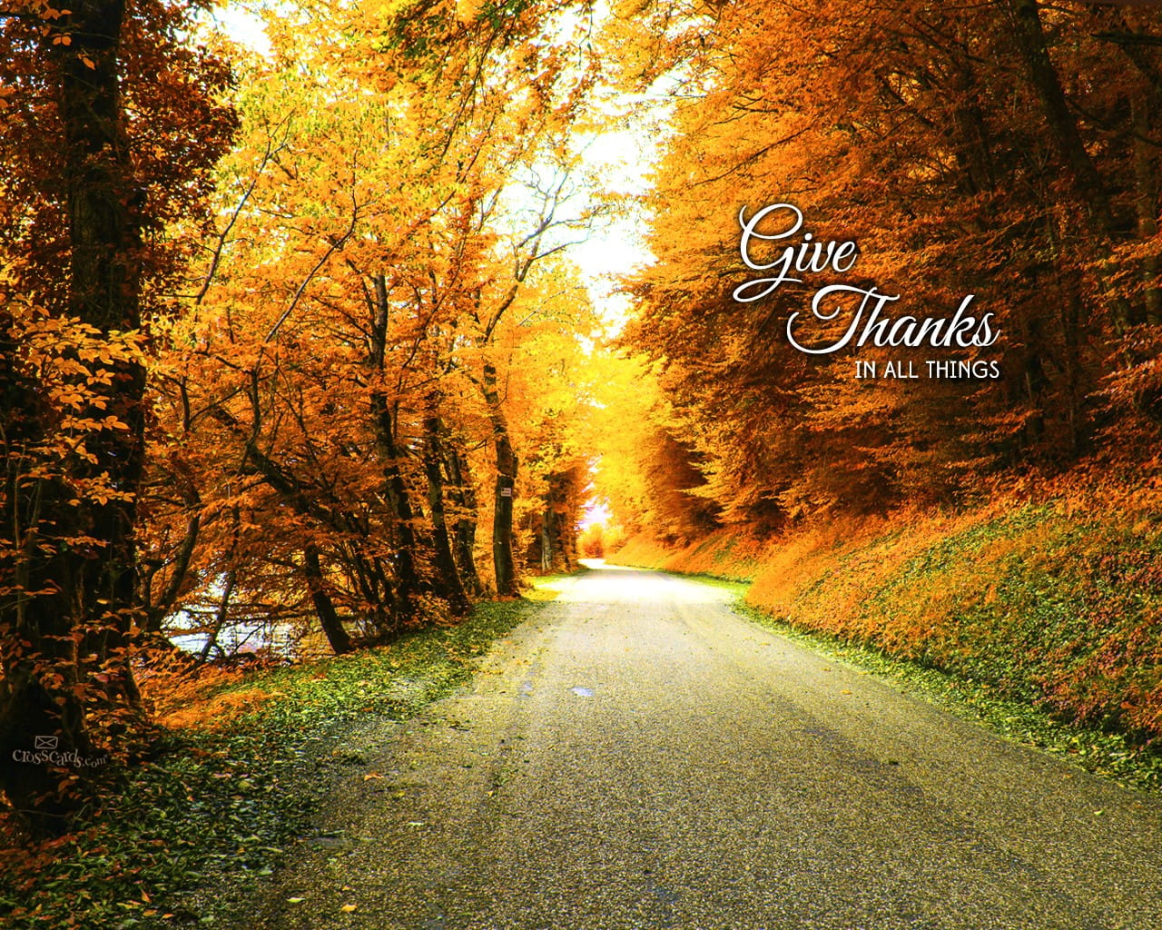 Give Thanks Desktop Wallpaper - Free Backgrounds