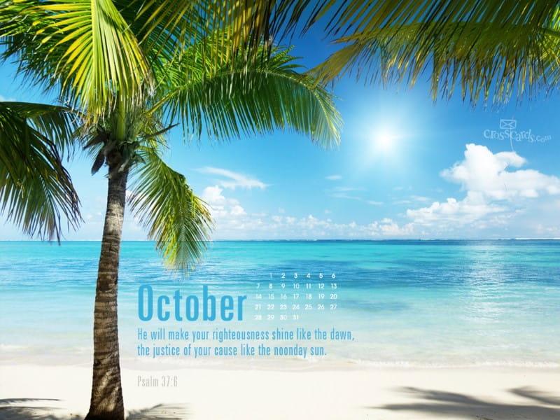 Oct 2012 - Psalm 37:6