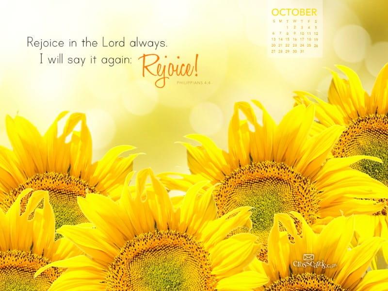 Oct 2013 - Rejoice
