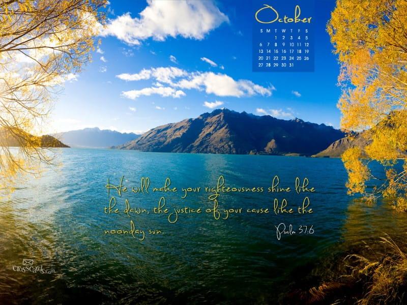 Oct 2013 - Psalm 37:6
