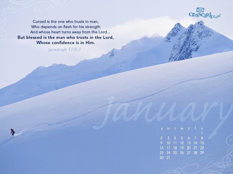 January 2011 - Jeremiah 17:5-7