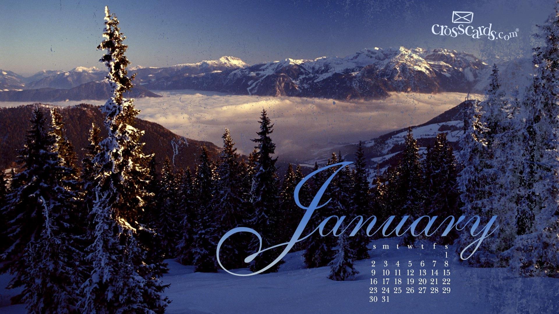 January Calendar Wallpaper Hd : January desktop calendar free wallpaper