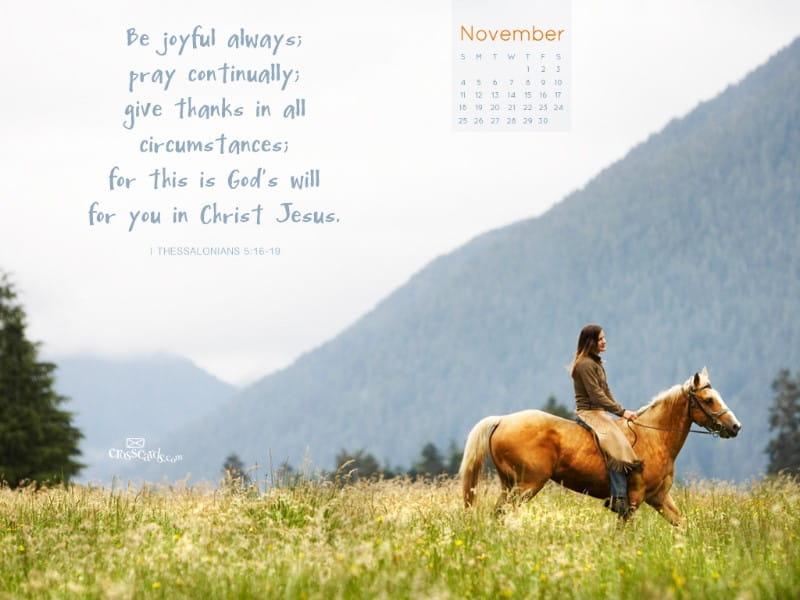 Nov 2012 - Give Thanks