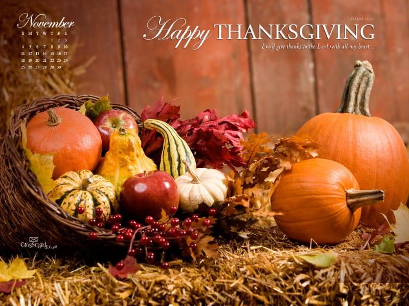 Nov 2012 - Thanksgiving