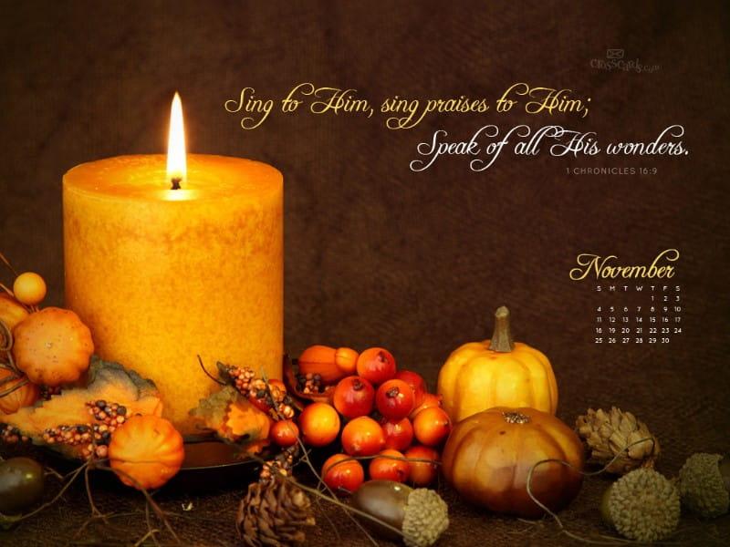 Nov 2012 - Sing Praise
