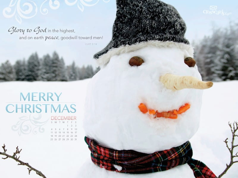 Dec. 2011 - Glory to God