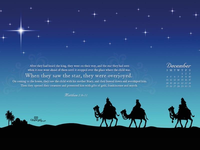 Dec. 2011 - Matt. 2:9-11