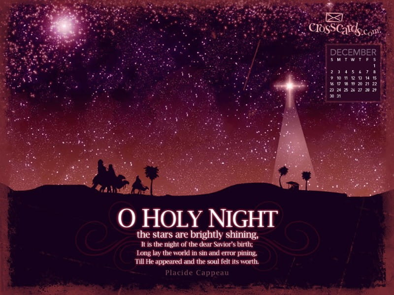 Dec 2012 - Holy Night