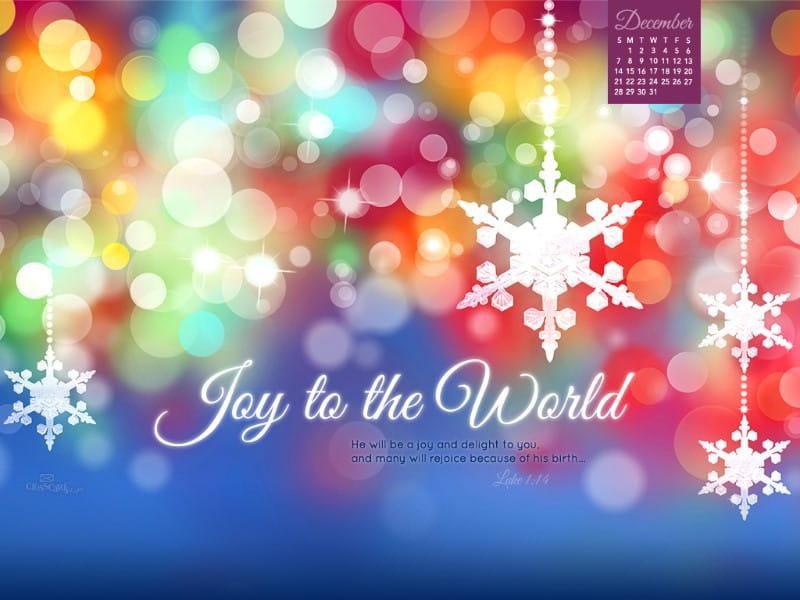 december 2015 calendar christmas theme wallpaper