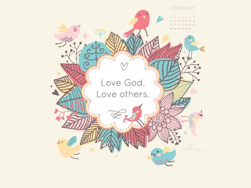 February 2014 - Love God