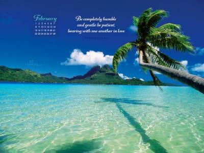 February 2015 - Ephesians 4:2