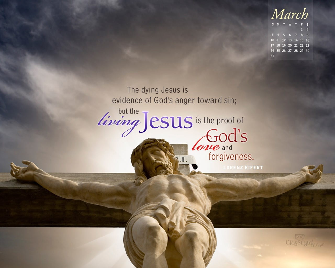 March 2013 - Living Jesus Desktop Calendar- Free March ...
