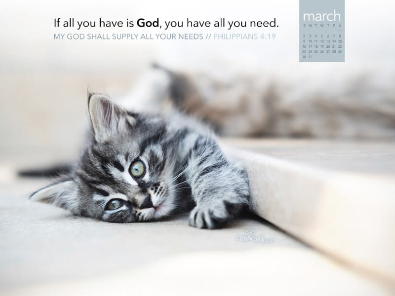 March 2014 - God Supply Needs