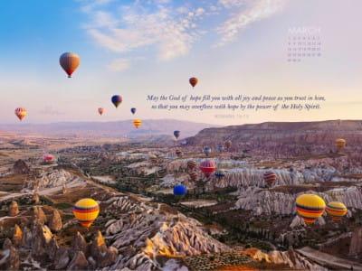 March 2015 - Romans 15:13