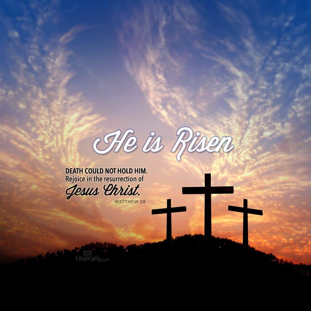 April 2015 He Is Risen Desktop Calendar Free April