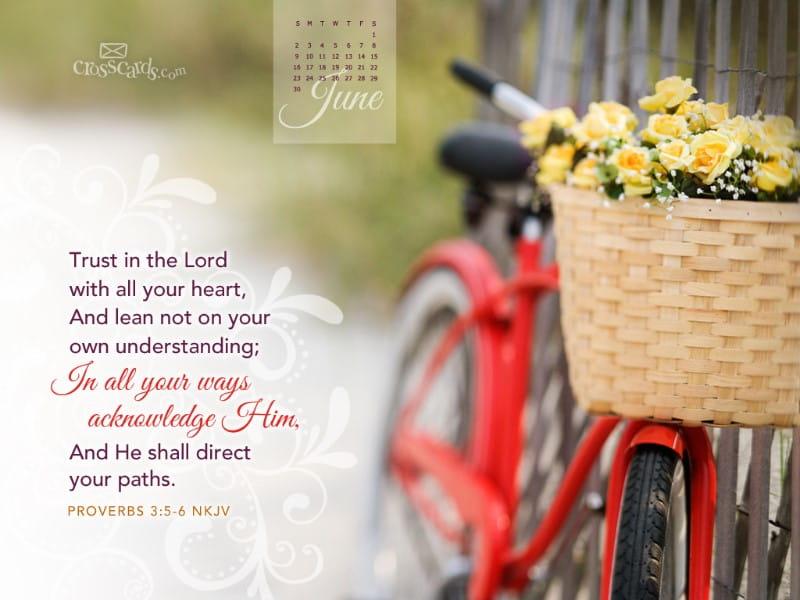 June 2013 - Provers 3:5-6 NKJV