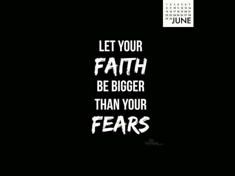 June 2014 -Faith Bigger
