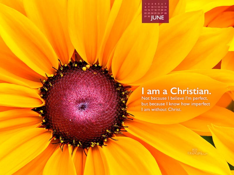 June 2014 - I am a Christian