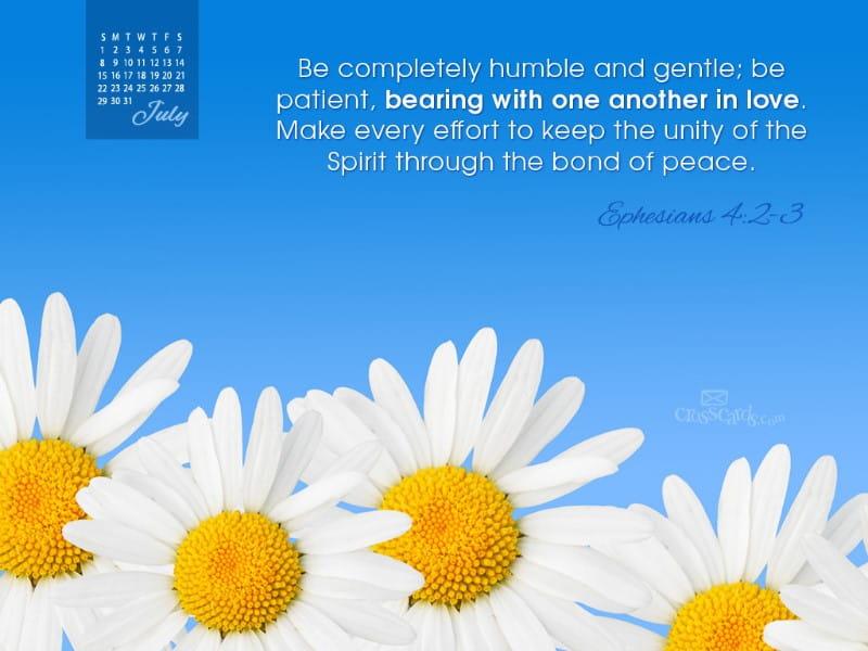 July 2012 - Eph 4:2-3
