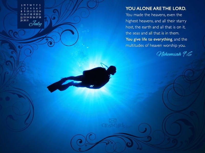 July 2012 - Neh 9:6