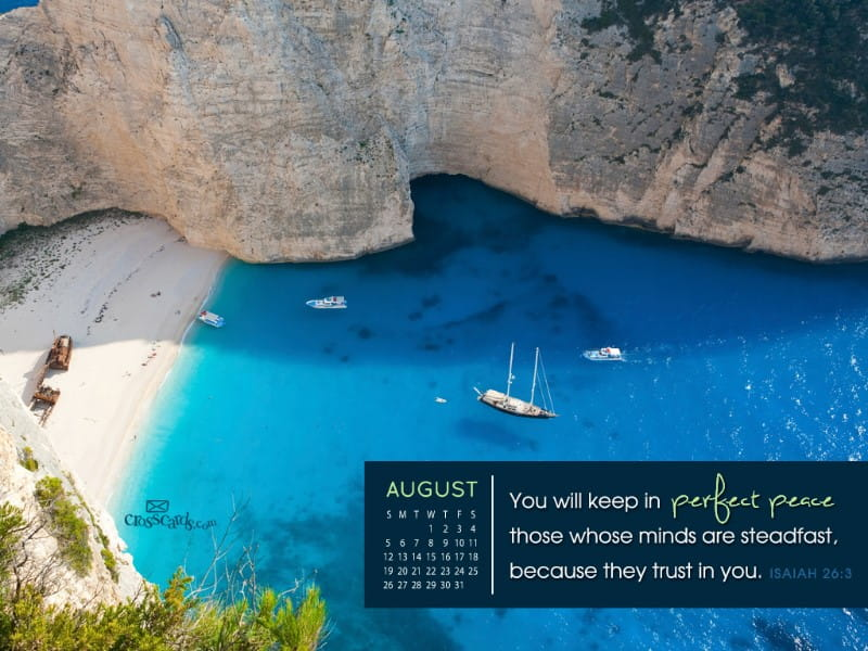 August 2012 - Perfect Peace