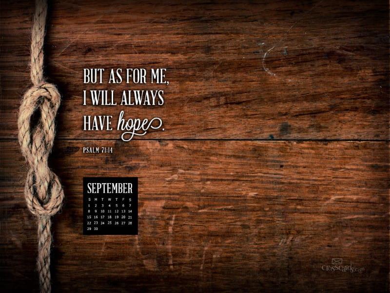 Sept 2013 - Psalm 71:14